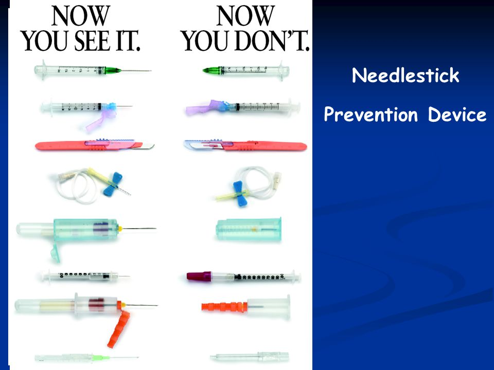 Needlestick Prevention Device