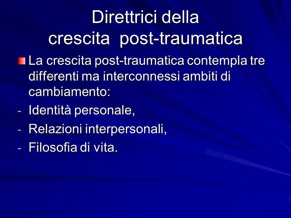 Direttrici della crescita post-traumatica