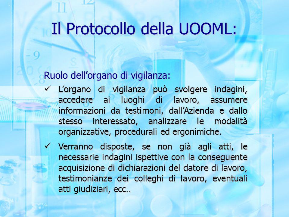 Il Protocollo della UOOML: