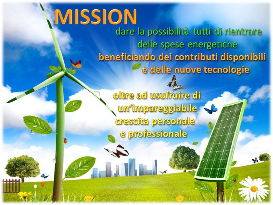MISSION dare la possibilità tutti di rientrare delle spese energetiche