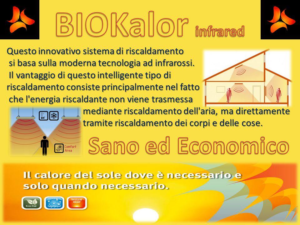 BIOKalor infrared Sano ed Economico
