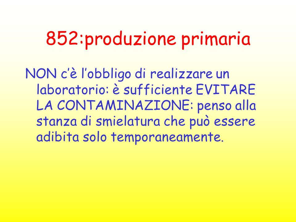 852:produzione primaria