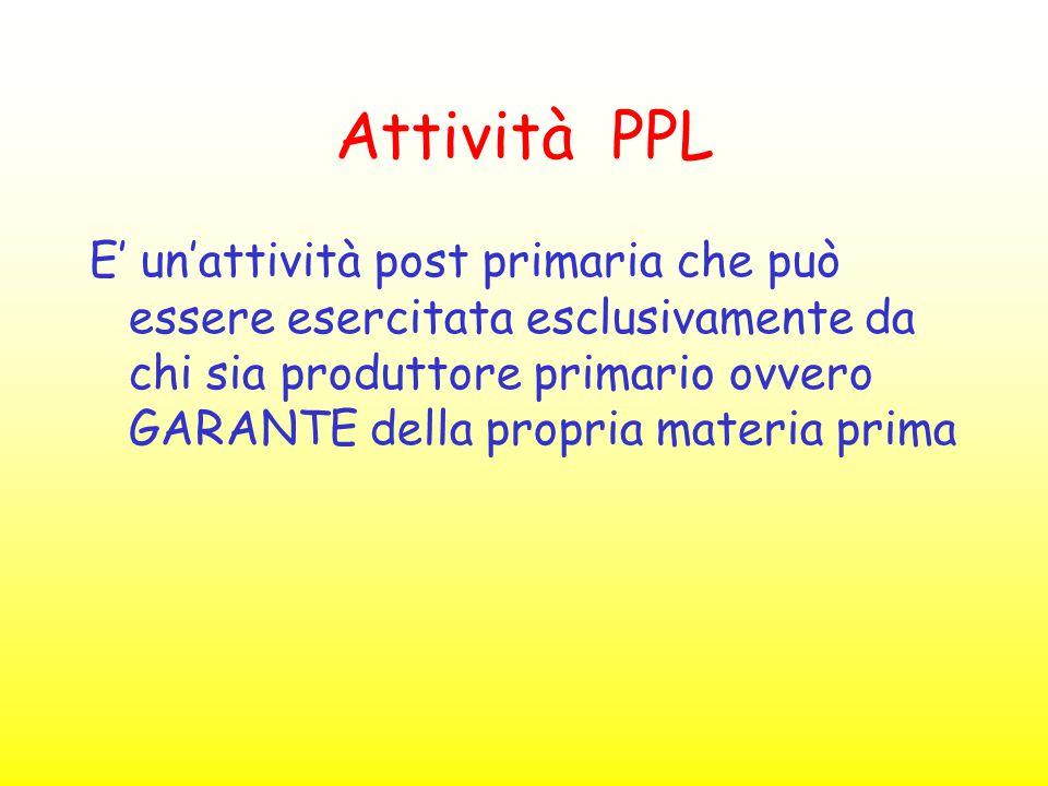 Attività PPL