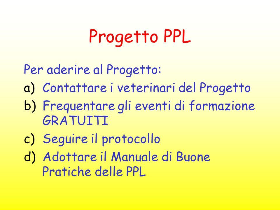 Progetto PPL Per aderire al Progetto: