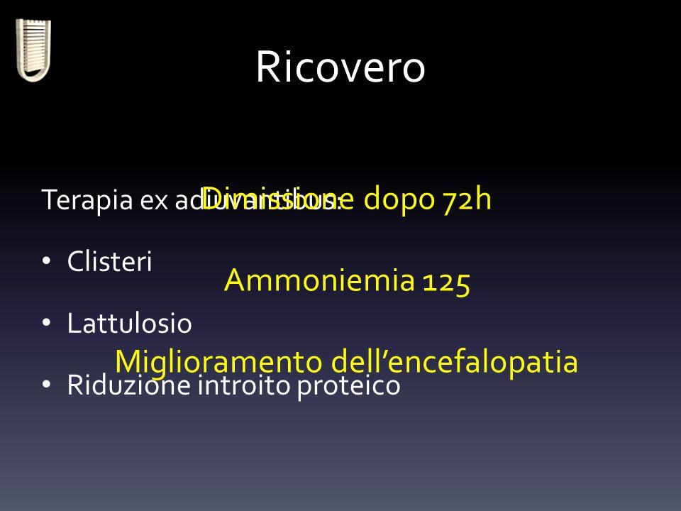 Miglioramento dell'encefalopatia