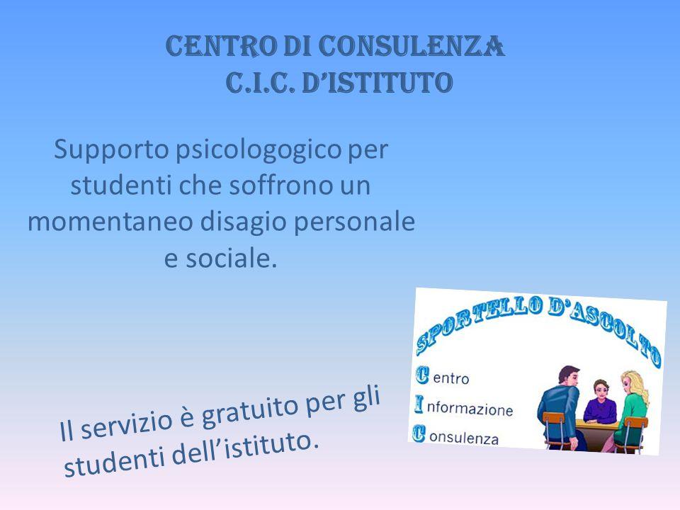 Centro di consulenza C.I.C. d'ISTITUTO