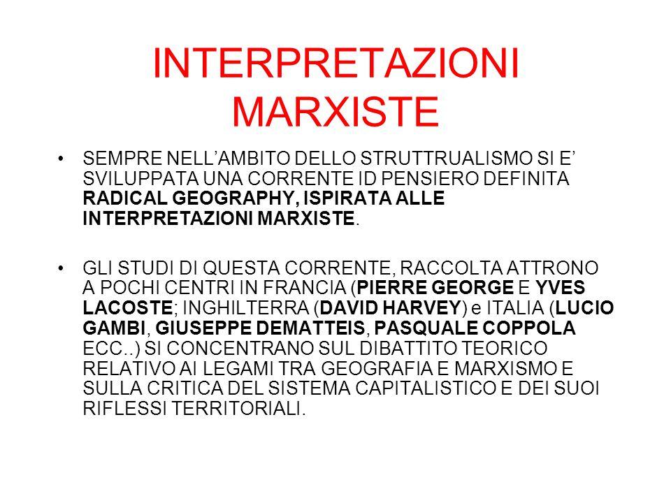 INTERPRETAZIONI MARXISTE