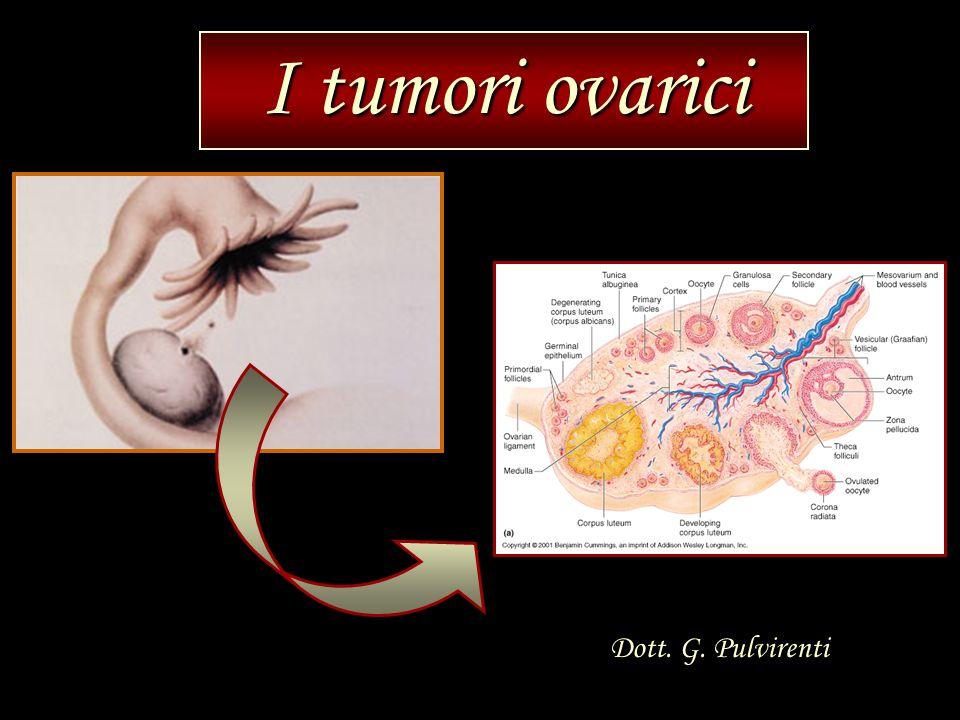 I tumori ovarici Dott. G. Pulvirenti