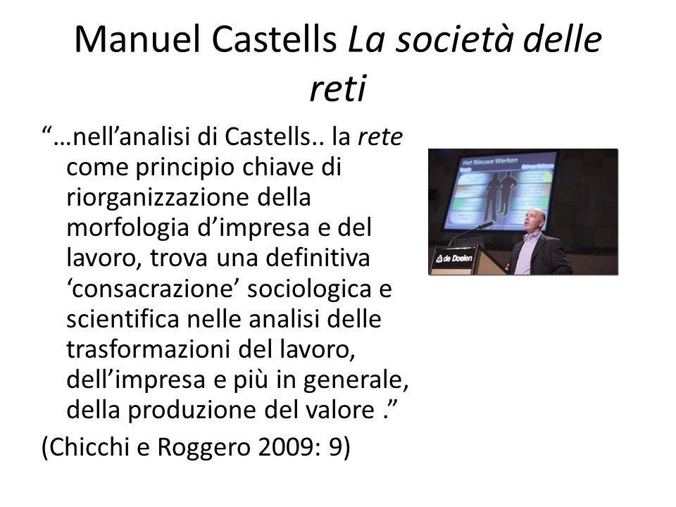 Manuel Castells La società delle reti