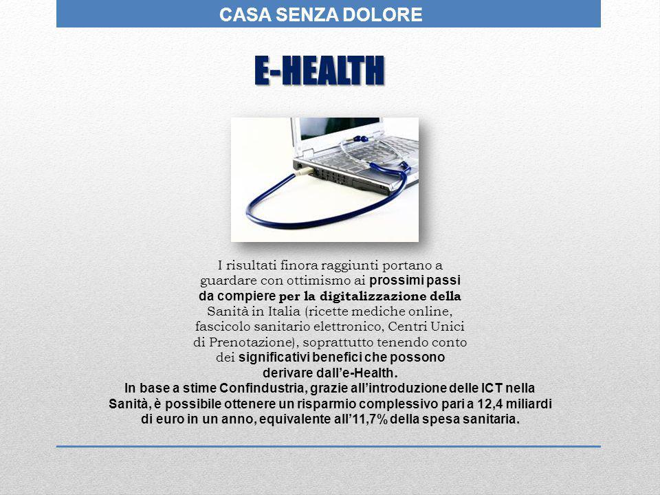 E-HEALTH CASA SENZA DOLORE