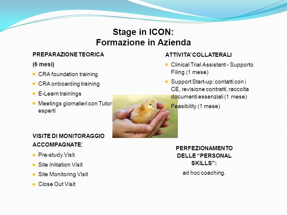 Stage in ICON: Formazione in Azienda