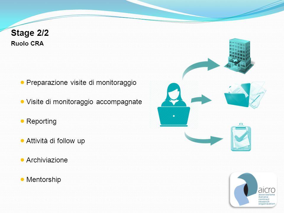 Stage 2/2 Preparazione visite di monitoraggio