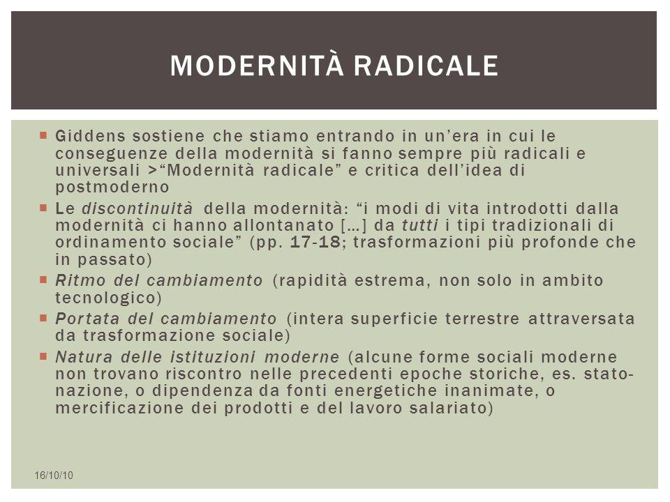 Modernità radicale