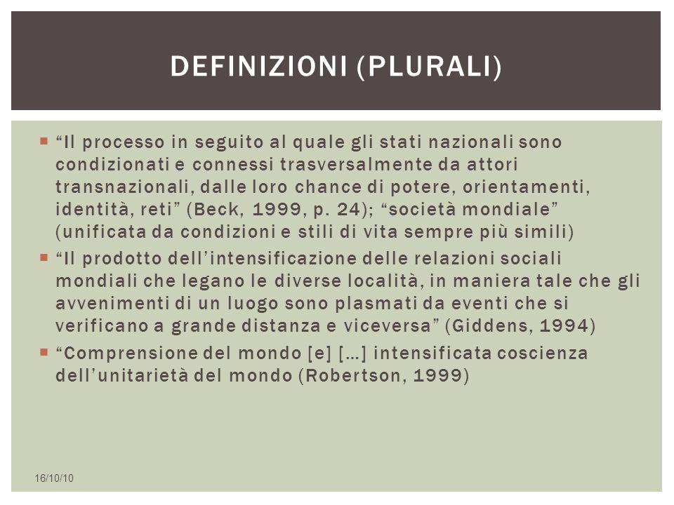 Definizioni (plurali)