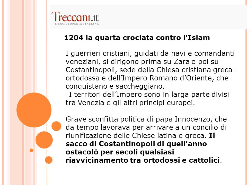 1204 la quarta crociata contro l'Islam
