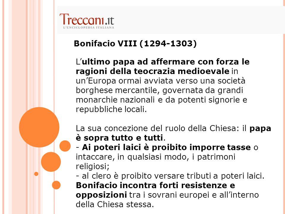 Bonifacio VIII (1294-1303)