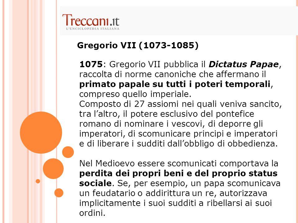 Gregorio VII (1073-1085)