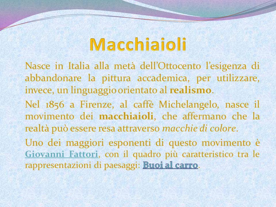 Macchiaioli