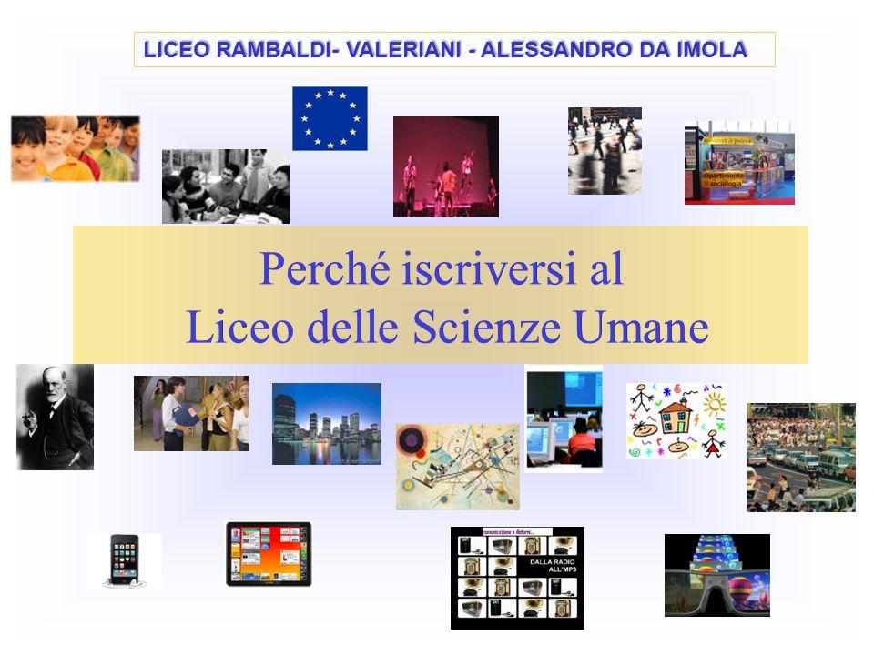 Perché iscriversi al Liceo delle Scienze Umane