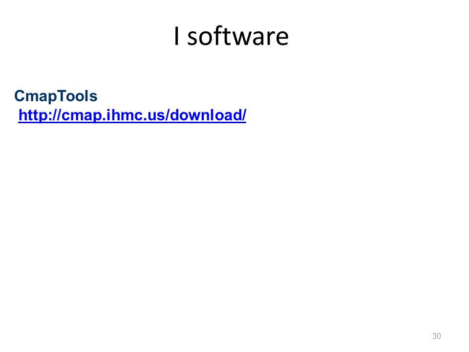 I software CmapTools http://cmap.ihmc.us/download/