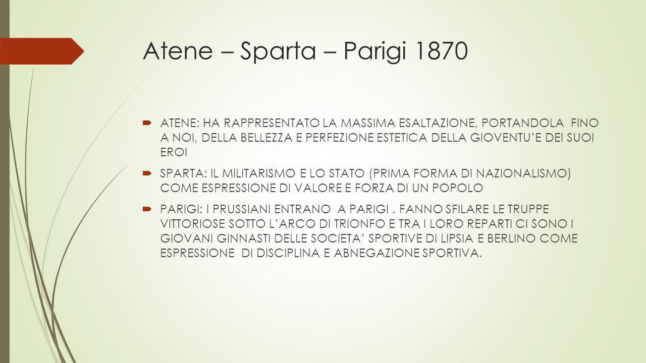 Atene – Sparta – Parigi 1870