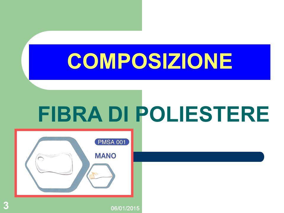COMPOSIZIONE FIBRA DI POLIESTERE 08/04/2017