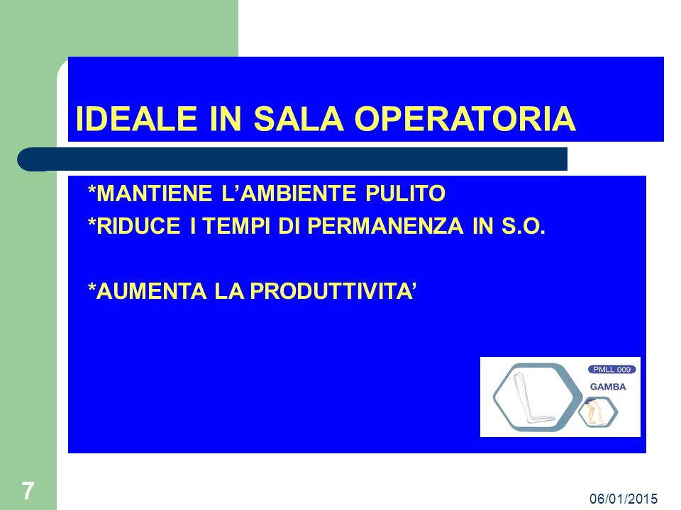 IDEALE IN SALA OPERATORIA