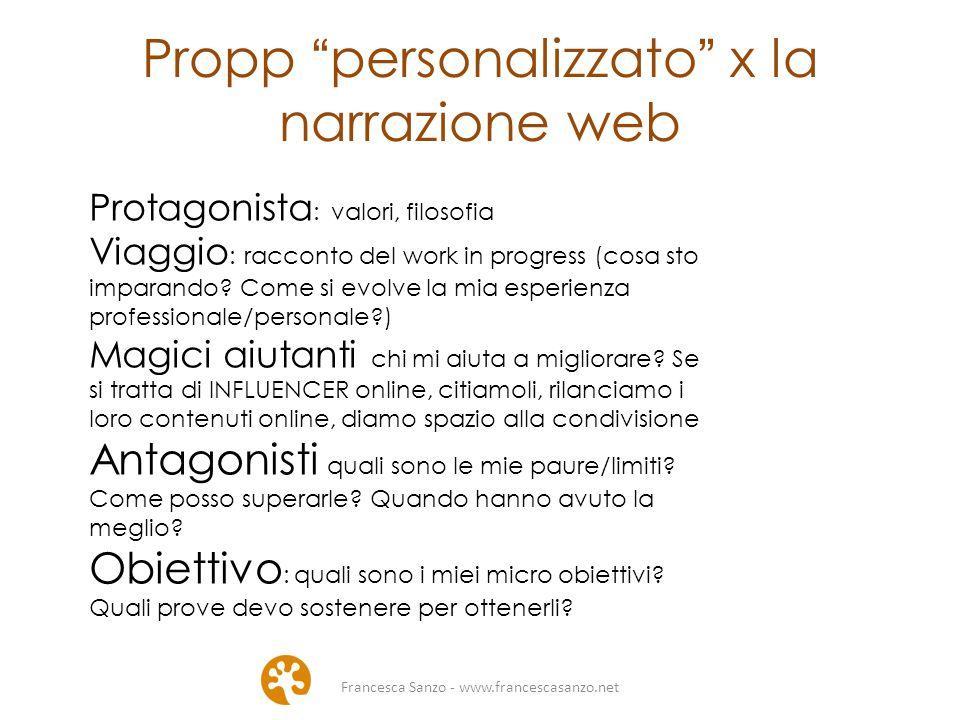 Propp personalizzato x la narrazione web