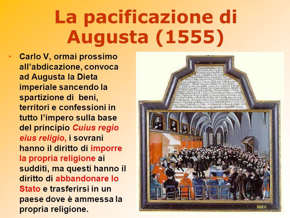 La pacificazione di Augusta (1555)