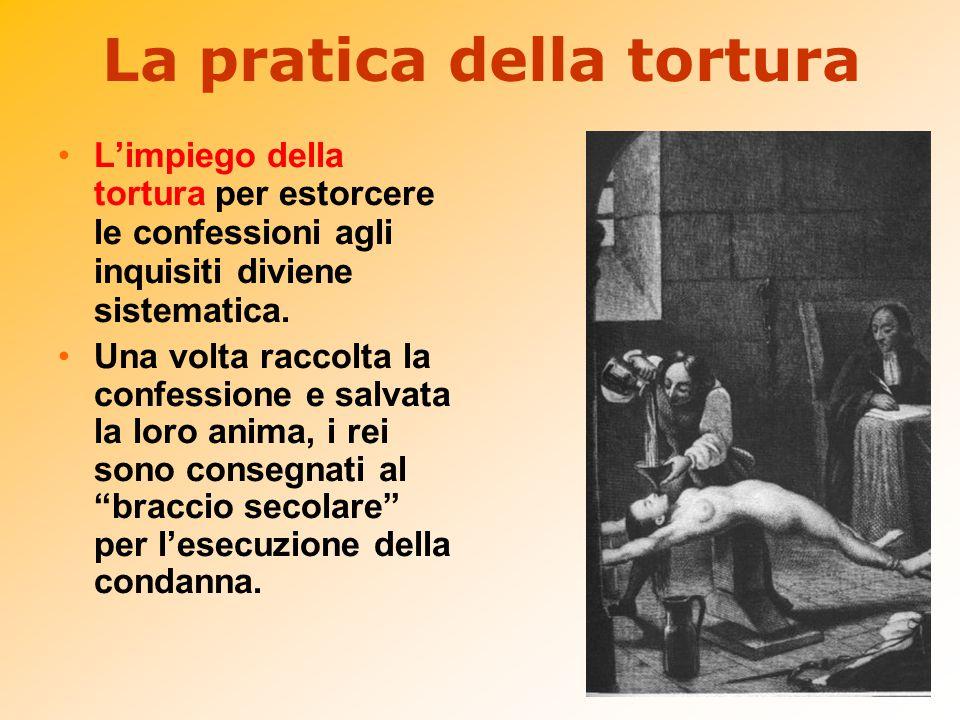 La pratica della tortura