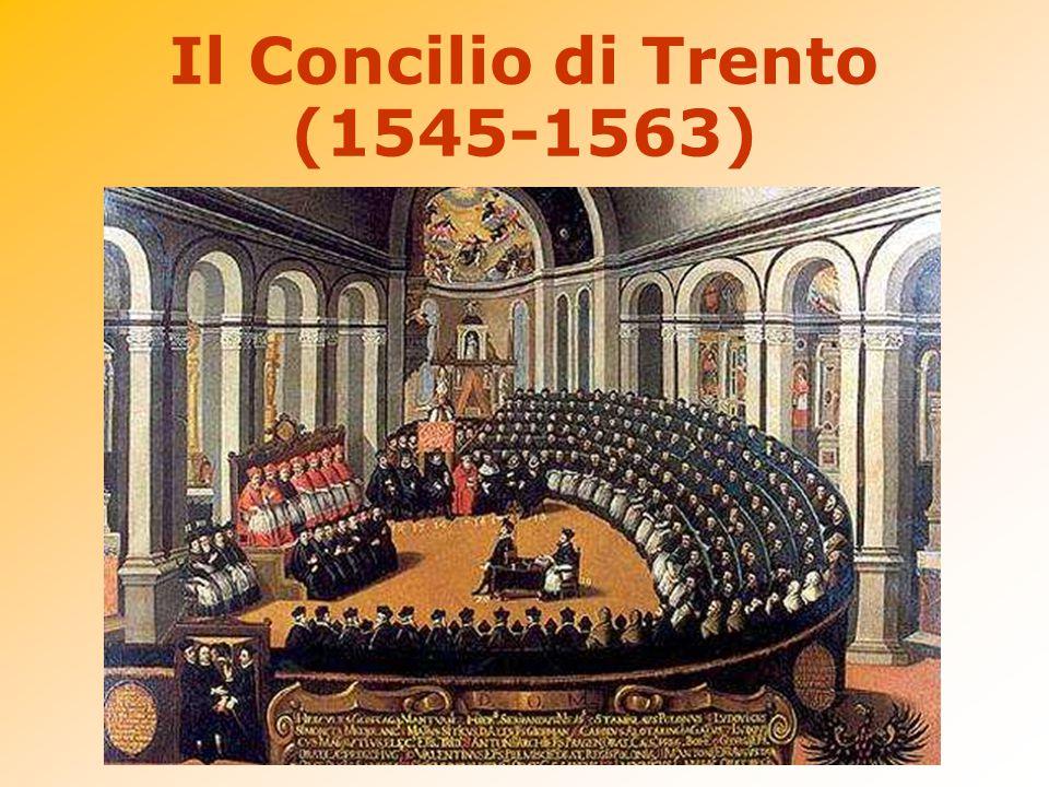 Il Concilio di Trento (1545-1563)