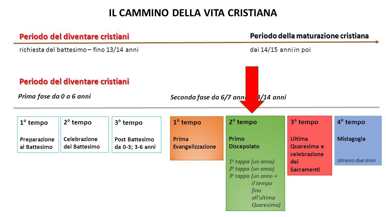 IL CAMMINO DELLA VITA CRISTIANA