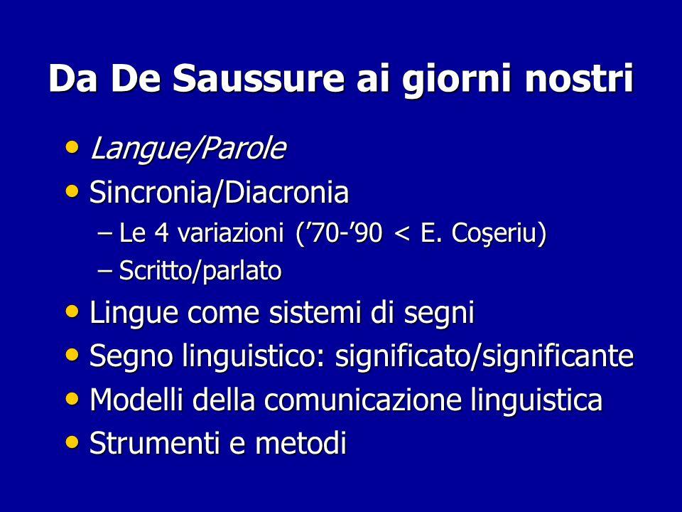 Da De Saussure ai giorni nostri