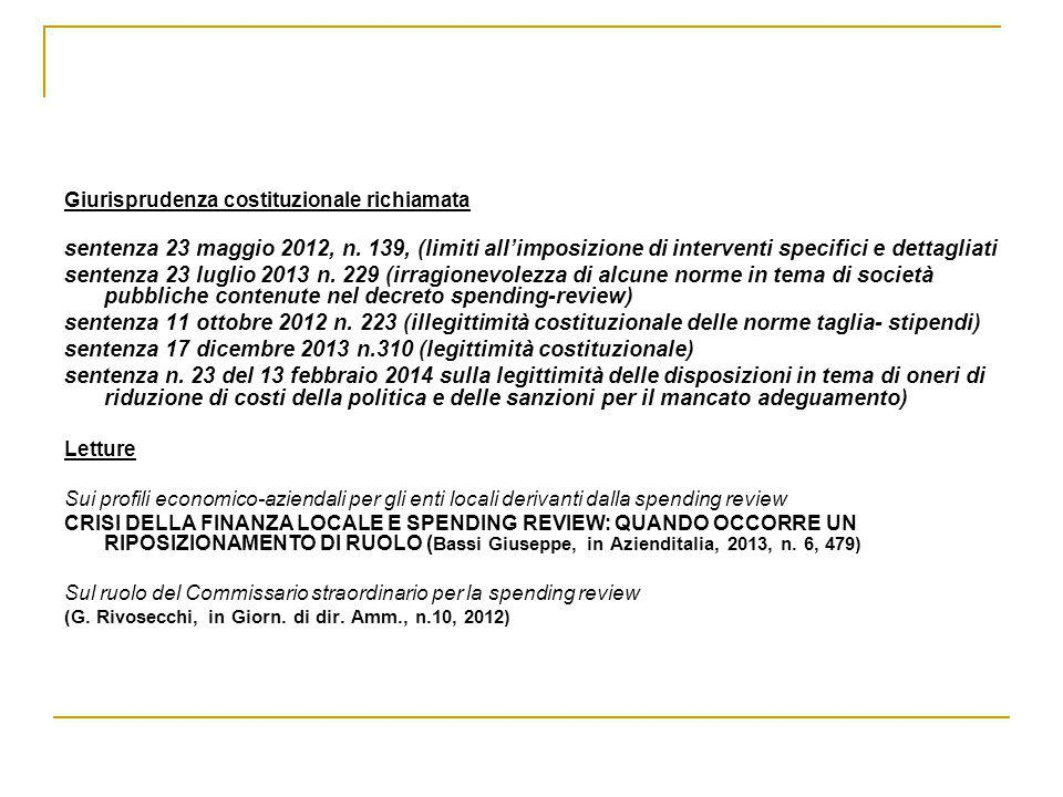 sentenza 17 dicembre 2013 n.310 (legittimità costituzionale)