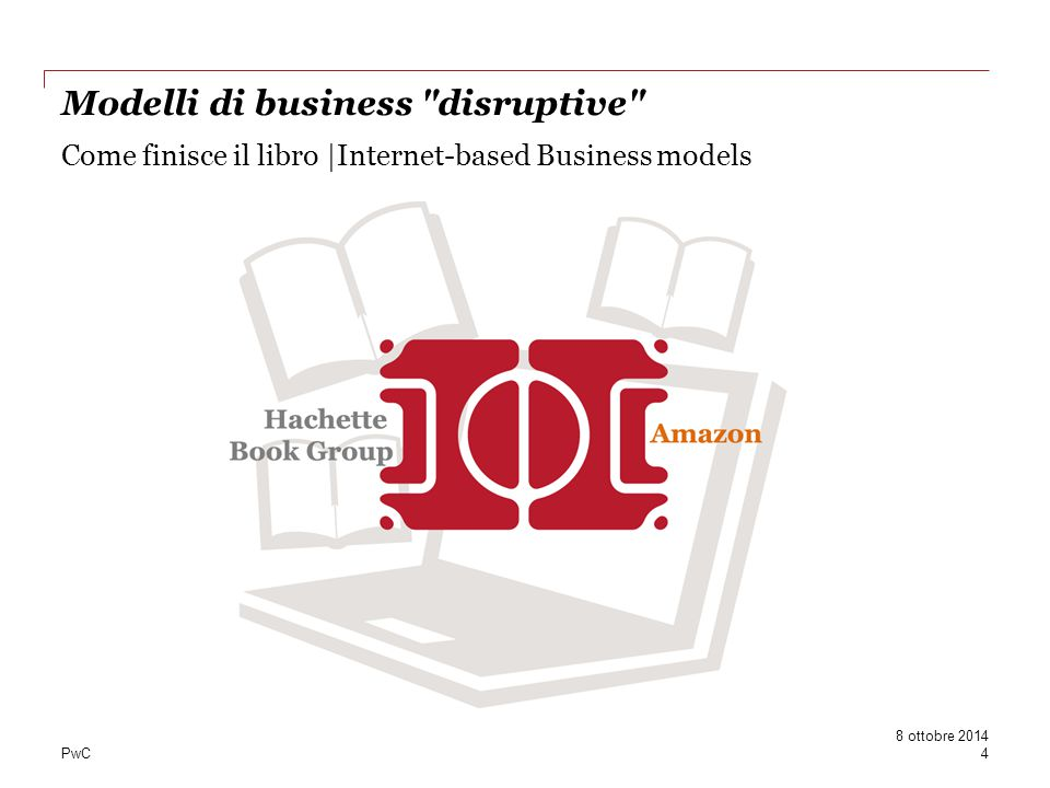 Come finisce il libro |Internet-based Business models