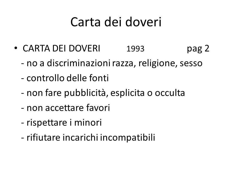 Carta dei doveri CARTA DEI DOVERI 1993 pag 2