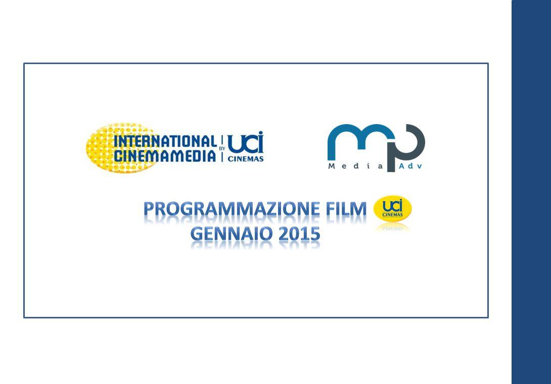 Programmazione Film GENNAIO 2015