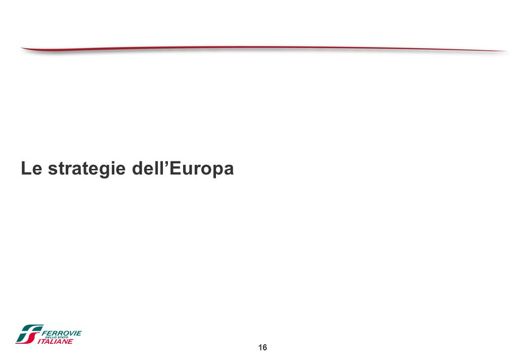 Le strategie dell'Europa