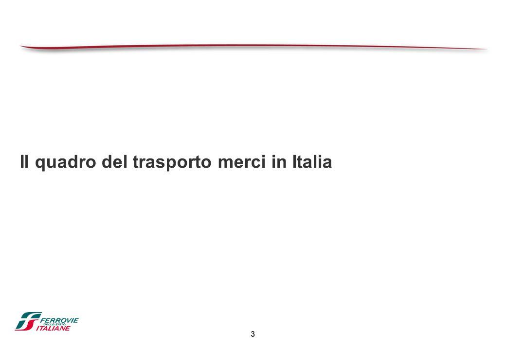Il quadro del trasporto merci in Italia