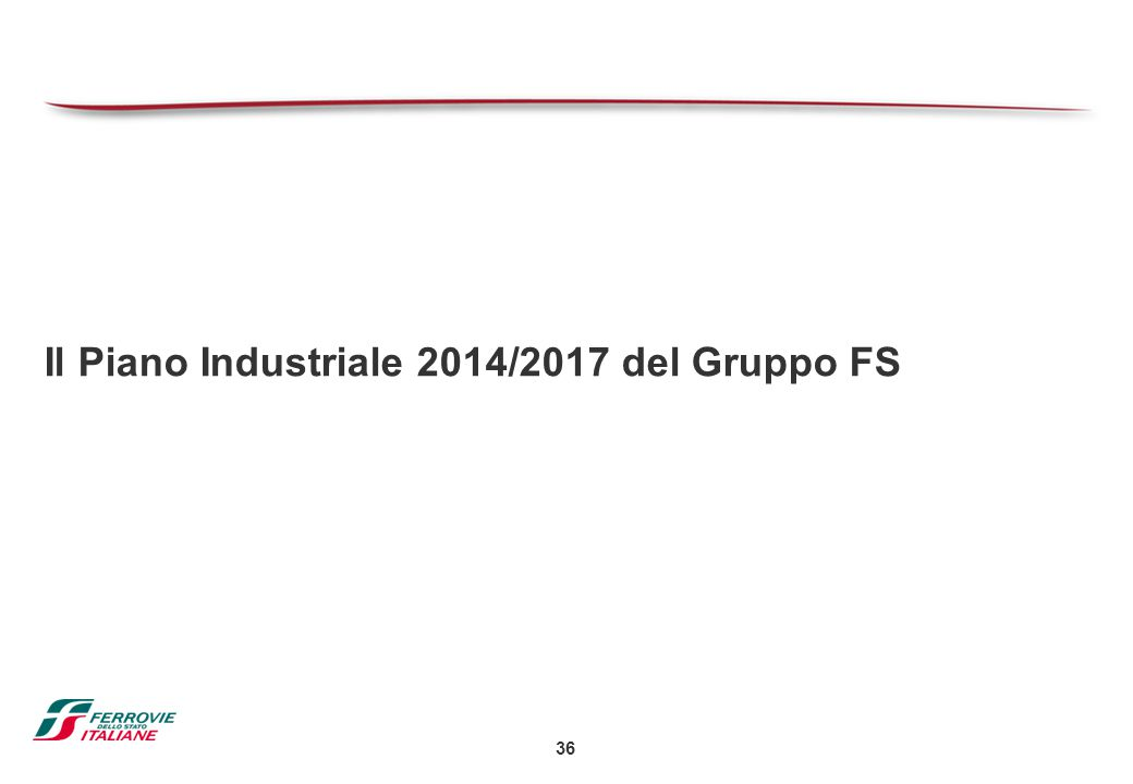 Il Piano Industriale 2014/2017 del Gruppo FS