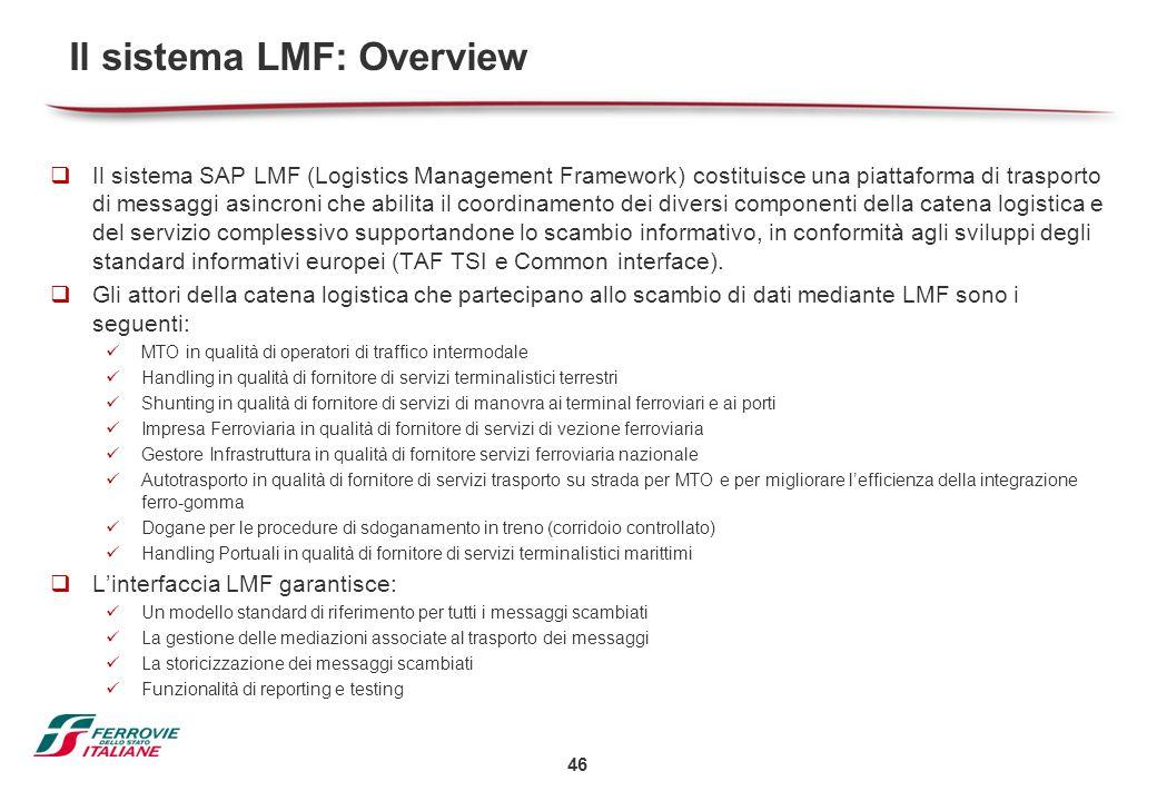 Il sistema LMF: Overview