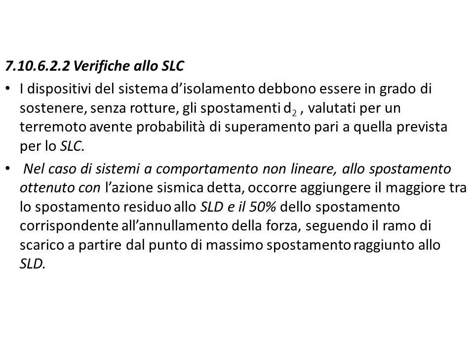 7.10.6.2.2 Verifiche allo SLC