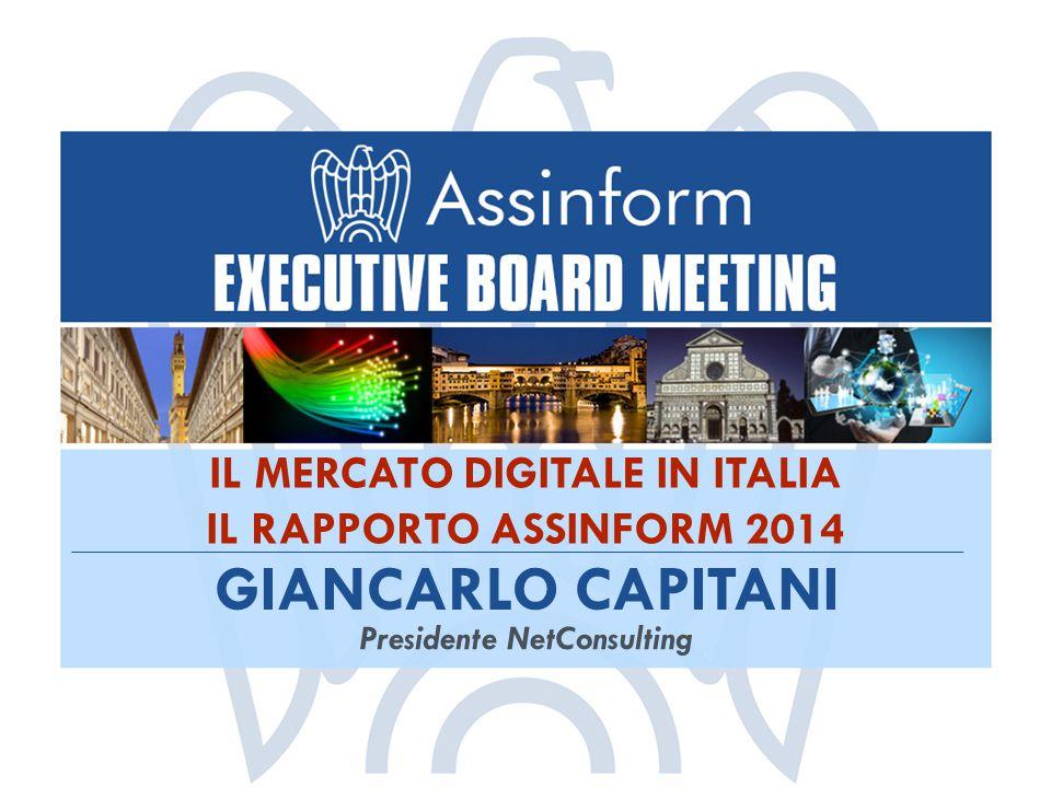 IL MERCATO DIGITALE IN ITALIA Presidente NetConsulting