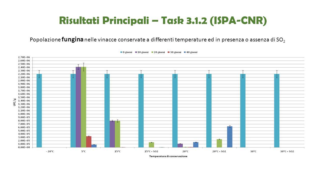 Risultati Principali – Task 3.1.2 (ISPA-CNR)