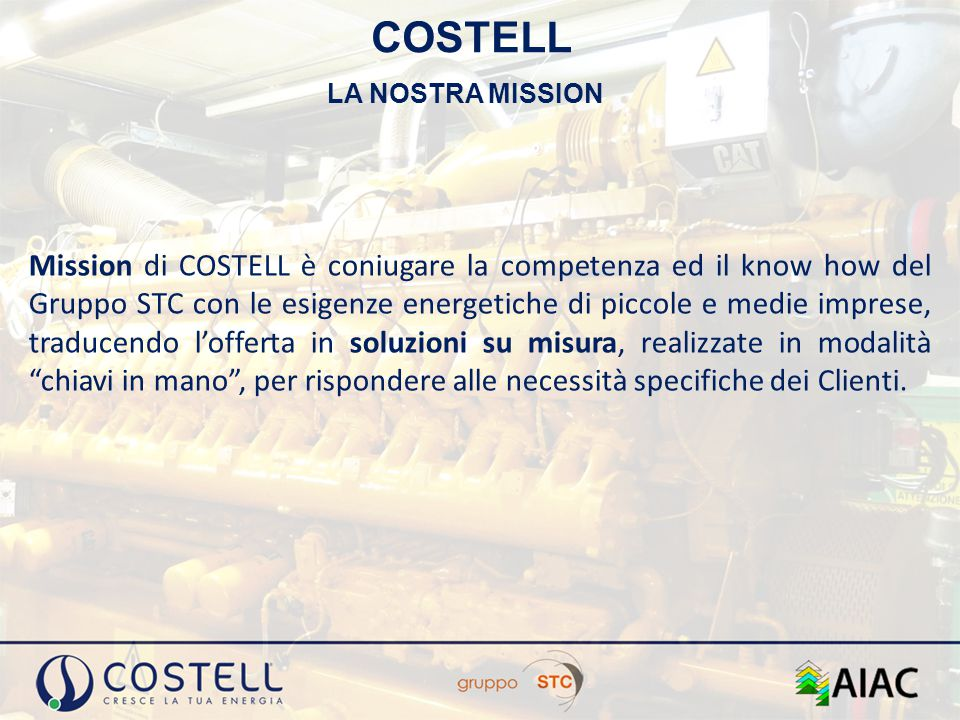 COSTELL LA NOSTRA MISSION.