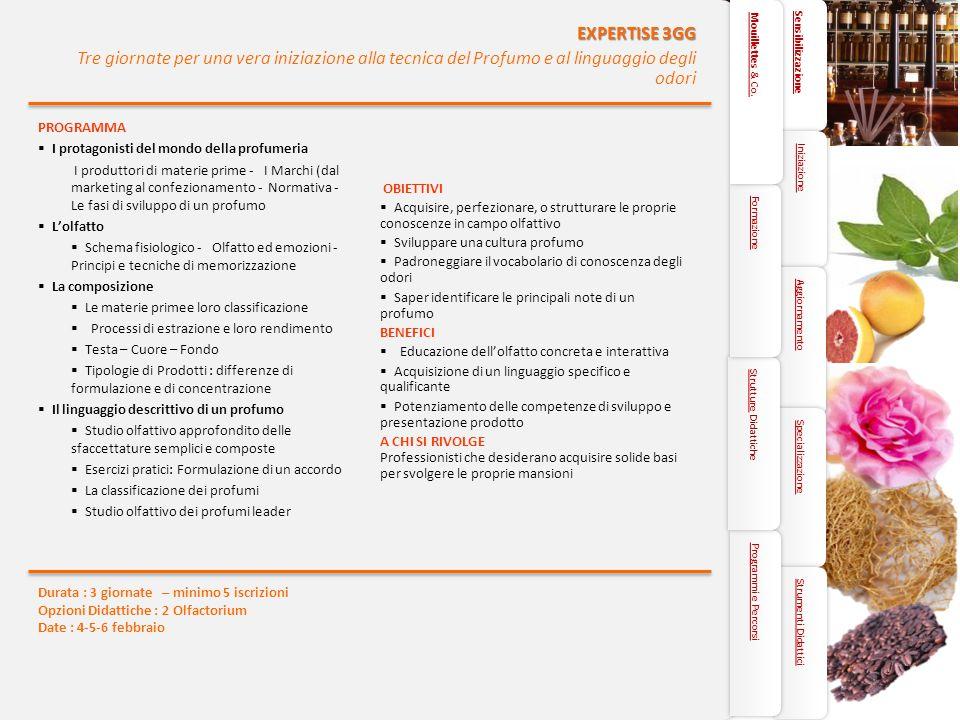 Sensibilizzazione Iniziazione. Aggiornamento. Specializzazione. Strumenti Didattici. Programmi e Percorsi.