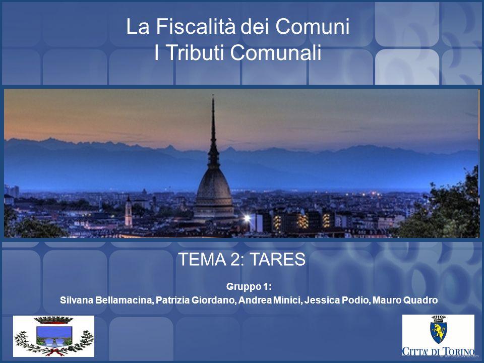 La Fiscalità dei Comuni I Tributi Comunali