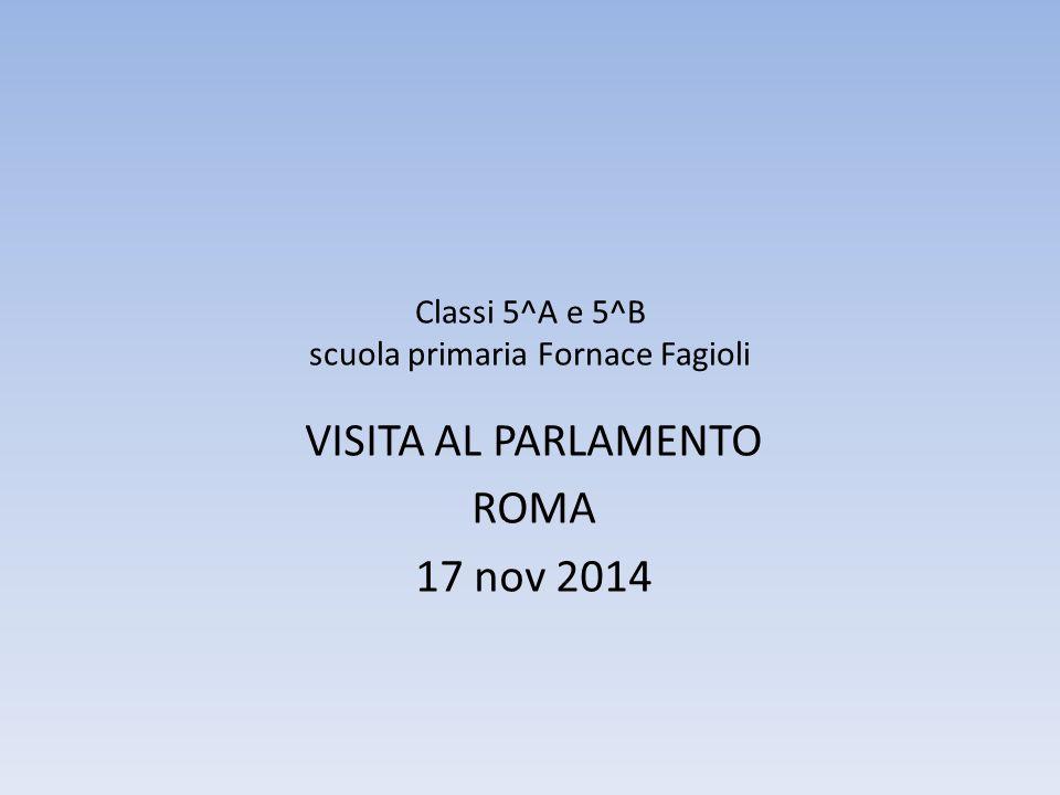 Classi 5^A e 5^B scuola primaria Fornace Fagioli