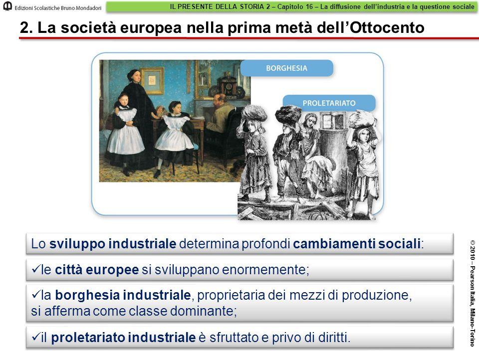 2. La società europea nella prima metà dell'Ottocento