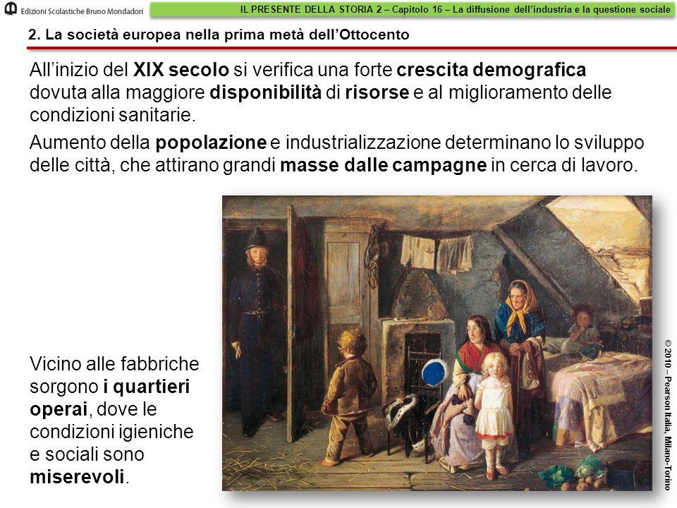 IL PRESENTE DELLA STORIA 2 – Capitolo 16 – La diffusione dell'industria e la questione sociale